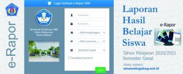 e-Rapor (2020/2021 Ganjil)